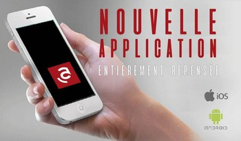 NOUVELLE APPLICATION MOBILE